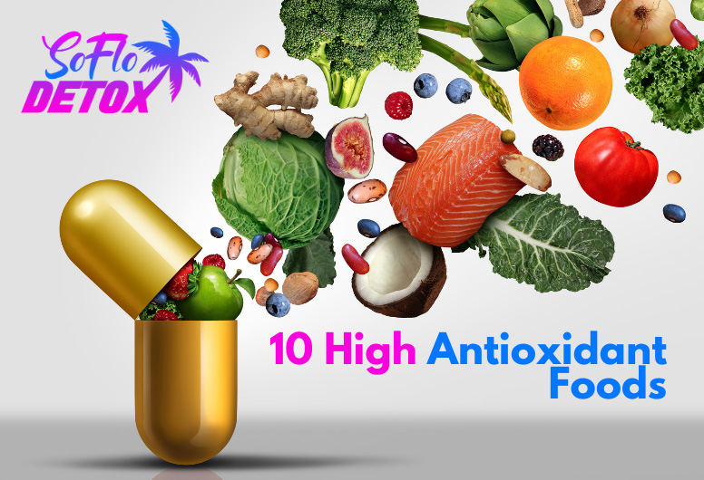 10 foods high in antioxidants